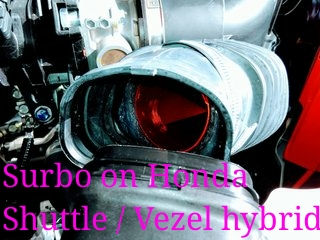 Surbo fitted on Honda Shuttle 1.5 hybrid